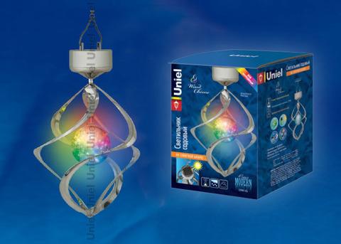 USL-M-107/MT265 Садовый светильник на солнечной батарее Wind Chime. Серия Modern
