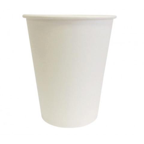 Стакан одноразовый бумажный белый 350мл Эконом 37 шт/уп 11132