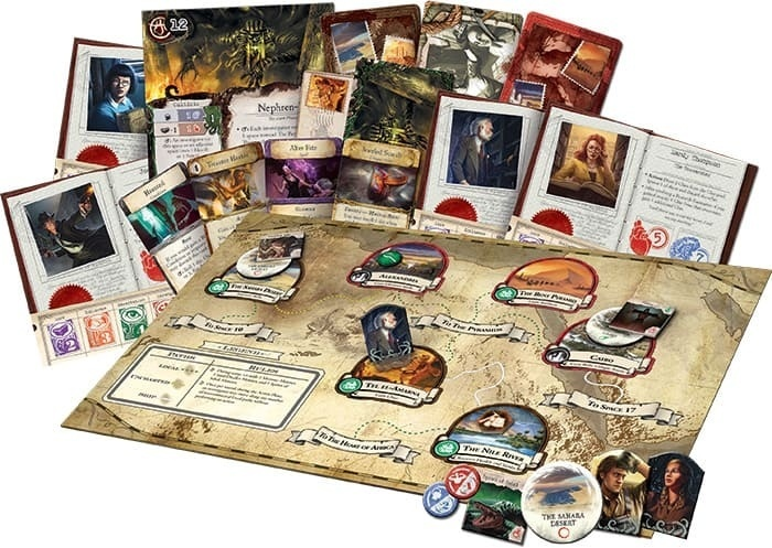 Настольная игра Древний Ужас. Под пирамидами (дополнение)