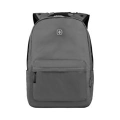 Рюкзак WENGER 14'', С водоотталкивающим покрытием, цвет серый, 18 л