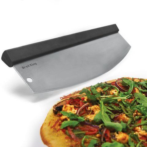 Изогнутый резак для пиццы Mezzaluna