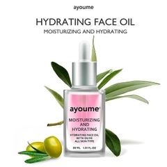 Ayoume Масло для лица увлажняющее с оливковым маслом Moisturing & Hydrating Face oil with Olive 30мл
