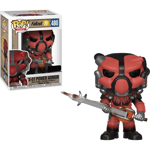 Фигурка Funko POP! Vinyl: Games: Fallout 76: X-01 Power Armor (RD)  (Exc) 39036
