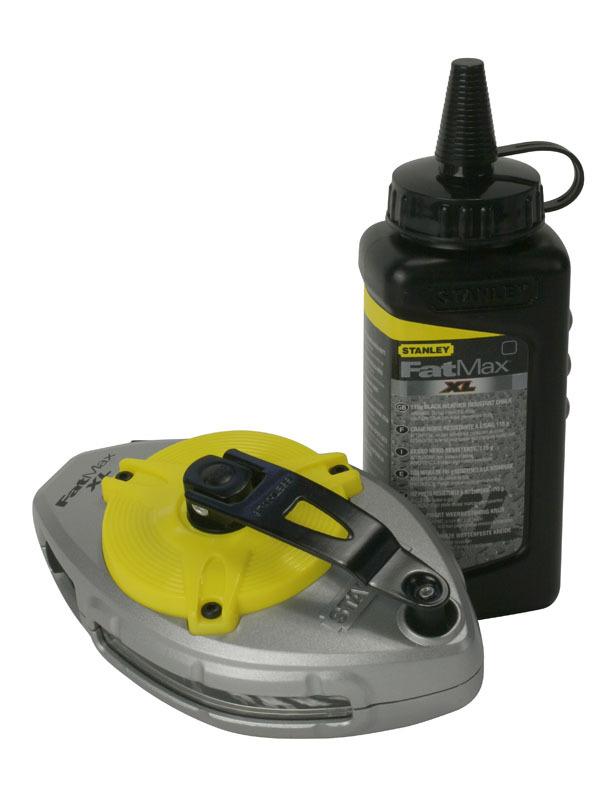 Набор шнуровка и флакон мелового порошка    FatMax Xtreme Stanley 0-47-488