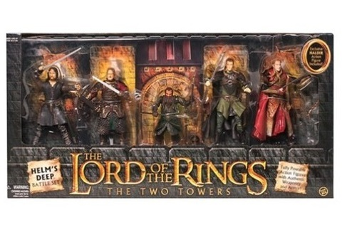 Властелин колец набор фигурок Хельмова Падь — Lord of the Rings Helms Deep