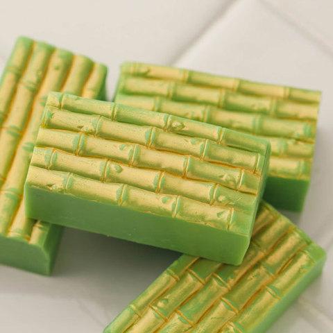 Мыло с текстурой Бамбук. Текстурный лист