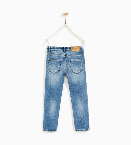 Базовые джинсы облегающего кроя ZARA