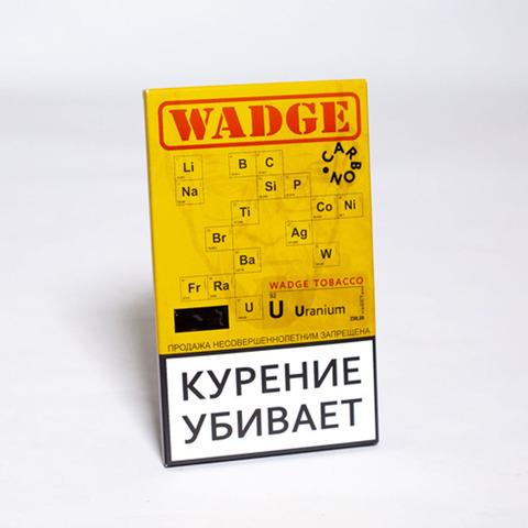 Табак WADGE CARBON 100gr Uranium