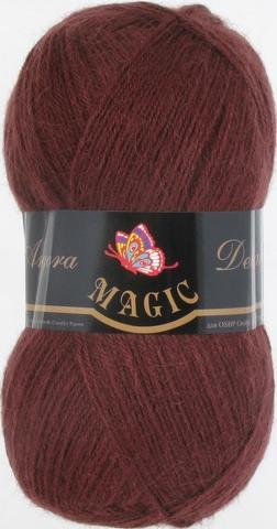 Пряжа Angora Delicate Magic 1107 Горький шоколад - купить в интернет-магазине недорого klubokshop.ru