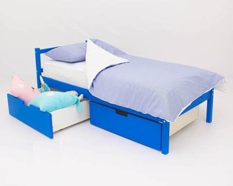 Кровать ФОРЕСТ синий