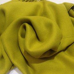 Кашемировый палантин горчичного цвета (5) фото 2