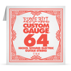 1164 Ernie Ball Nickel Wound Single String 0.64