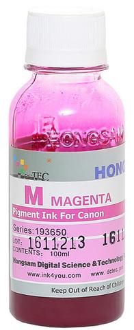 Чернила Dctec для Canon Pixma PRO, пигментные пурпурные (Magenta), 100 мл (Серия 193650)