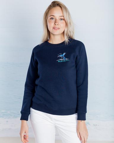 Свитшот Pacific Ocean женский