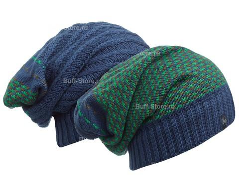 Вязаная шапка Buff Zile Blue