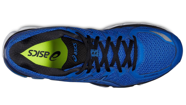 Мужские беговые кроссовки Asics Gel-Kayano 21 Lite-Show (T4N0Q 4747) синие фото сверху