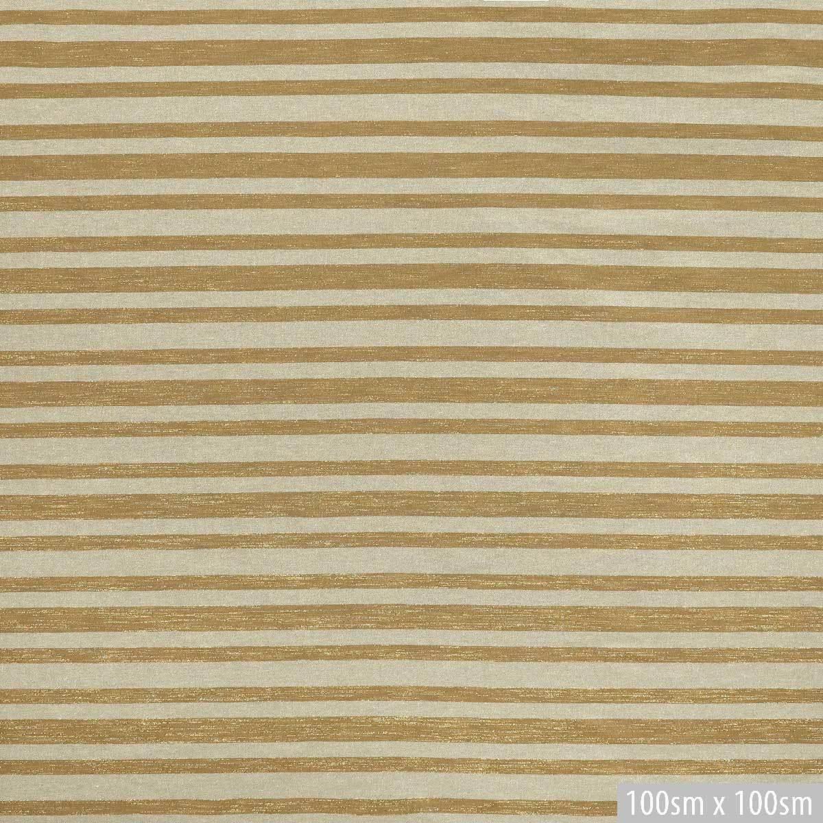 Золотистая бежево-песочная жаккардовая полоска