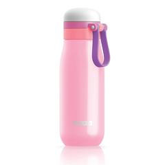 Бутылка вакуумная из нержавеющей стали 500мл розовая Zoku