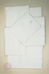 Полотенце 30x50 Devilla Baht&Co белое