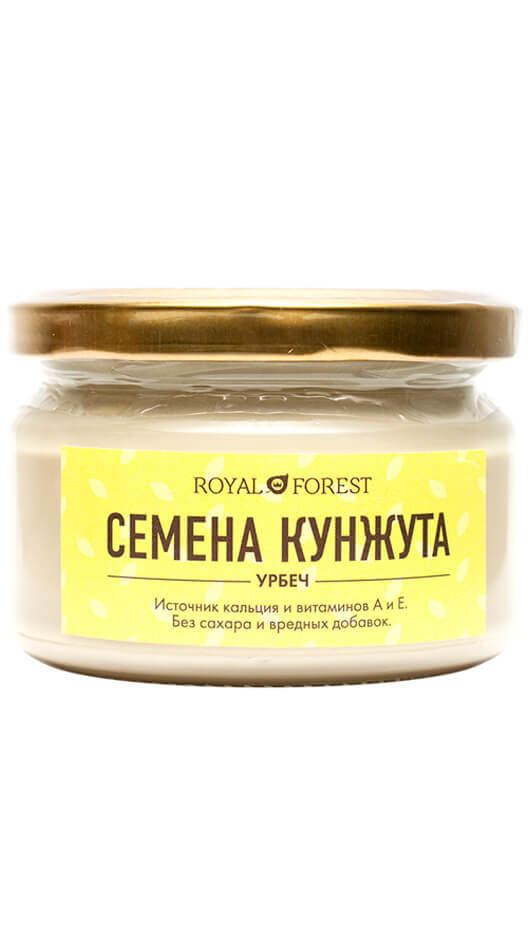 Урбеч из белого кунжута Royal Forest фото