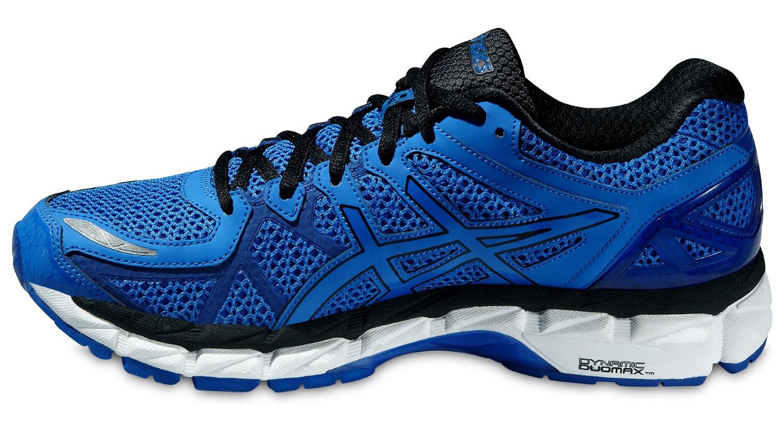 Мужские беговые кроссовки Asics Gel-Kayano 21 Lite-Show (T4N0Q 4747) синие фото флева