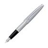 Перьевая ручка Cross Apogee Brushed Chrome St Steel перо F (AT0126-18FS) перьевая ручка cross townsend quartz blue перо f 18k 696 1fd