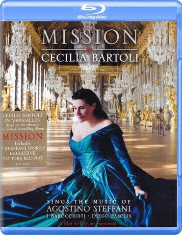 Cecilia Bartoli / Mission (Blu-ray)