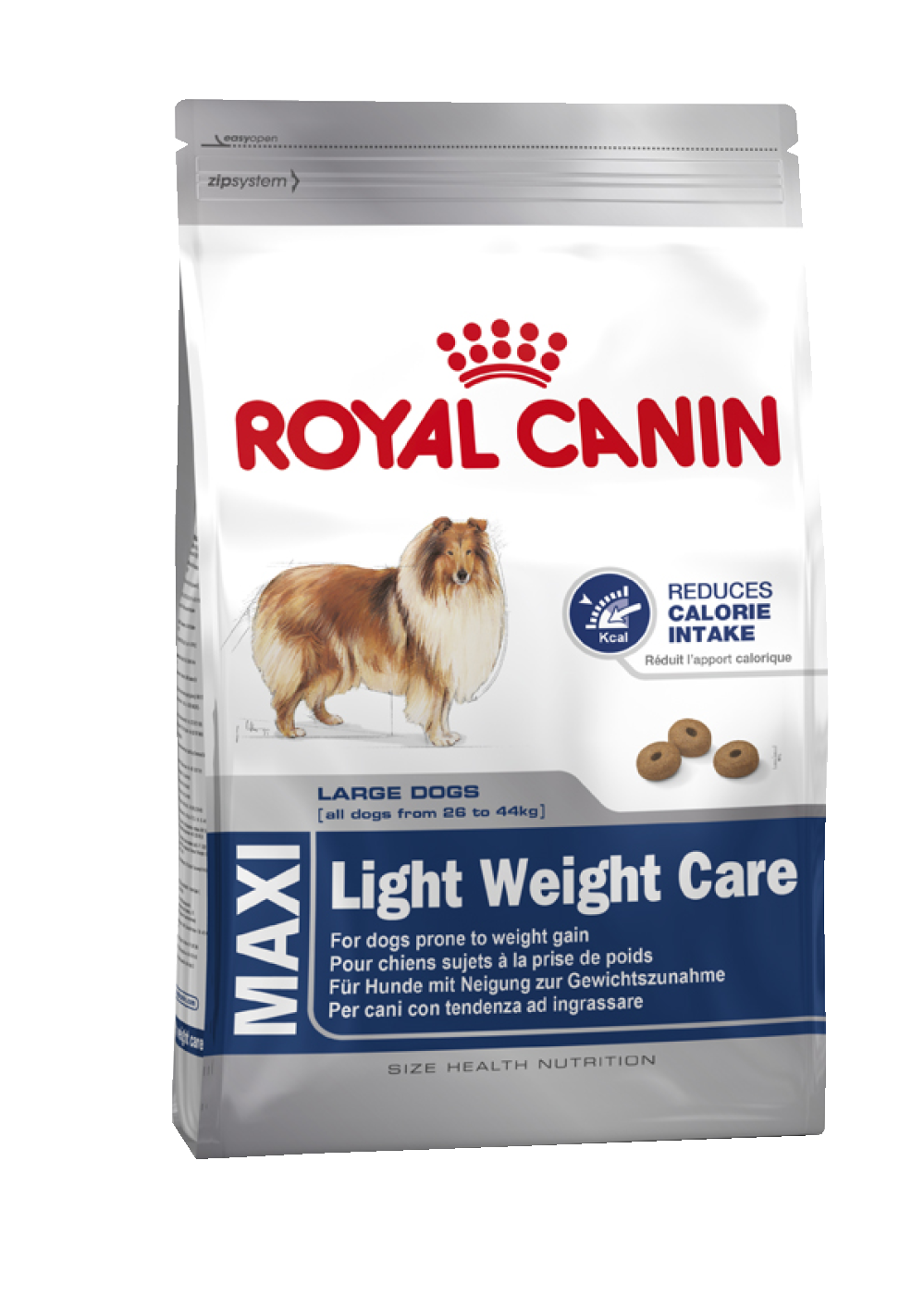 Корм Royal Canin для крупных cобак низкокалорийный, Maxi Light Weight Care