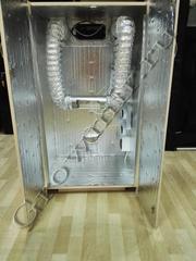 150x80x62 Гроубокс - шкаф с светоотражающей пленкой