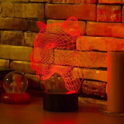3D лампа Пума