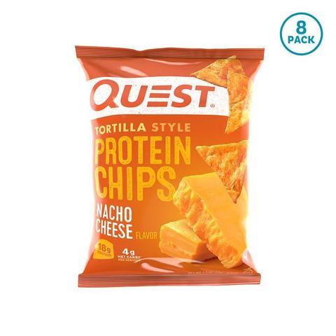 Quest Nutrition Quest Chips 2.0 Nacho Tortilla, 32гр 8шт Протеиновые Чипсы Начо Сыр Тортилья