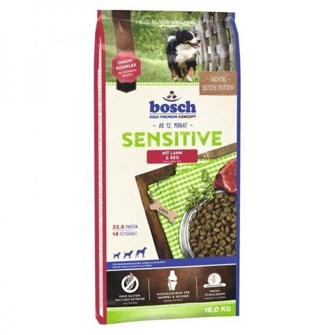 Дефект упаковки Bosch Sensitive Lamb & Rice 15 кг