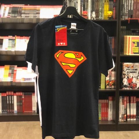 Футболка Superman, муж , S (46) , синий