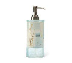 Дозатор для жидкого мыла Blonder Home Blue Waters