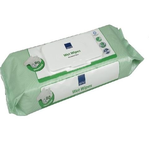 Салфетки влажные очищающие с пластиковой крышечкой 80 шт