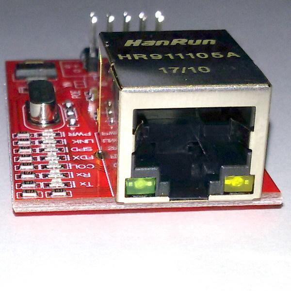 Модуль Ethernet W5100