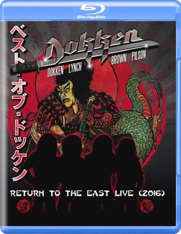 Dokken / Return To The East Live (2016)(Blu-ray)