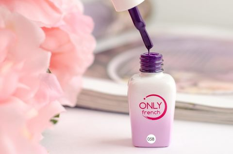 Гель-лак Only French, Violet Touch №058, 7ml