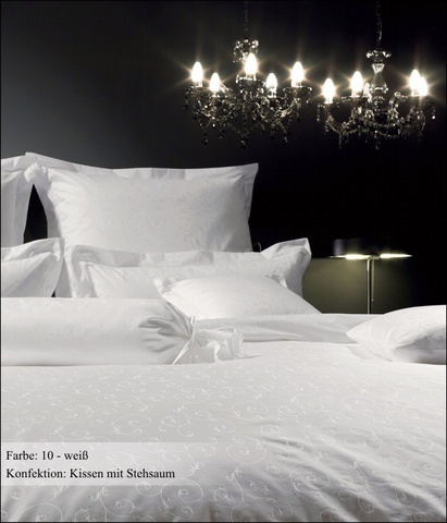 Постельное белье 2 спальное Janine Rubin белое