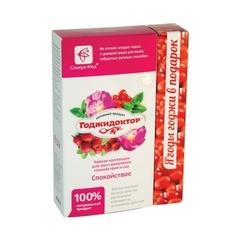 Чай Годжидоктор Спокойствие, 50гр+20 гр. (Сашера-Мед)