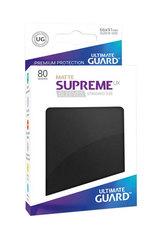Ultimate Guard - Черные матовые протекторы 80 штук в коробочке
