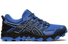 Кроссовки внедорожники Asics Gel FujiTrabuco 7 G-TX Blue мужские распродажа