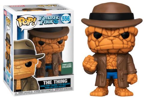 The Things (Fantastic Four) Funko Pop! || Существо в шляпе