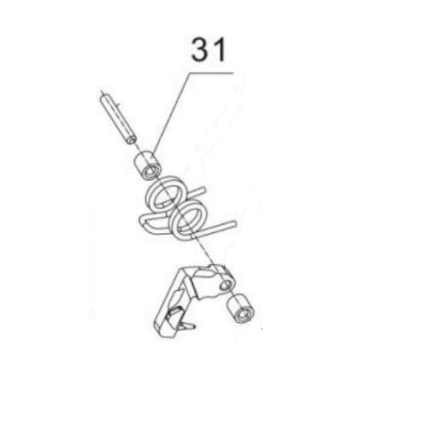 Ролик для монтажного пистолета ПЦ-84, GFT5 (31)