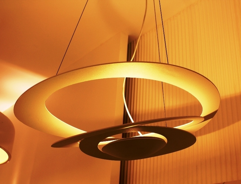 Artemide pirce mini. finest artemide pirce mini suspension lamp with
