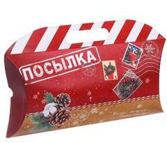 9961 Коробка подарочная «Посылка», 21,5 х 13,5 х 5 см