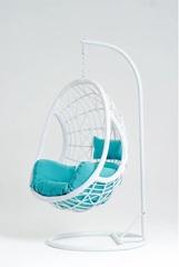 Подвесное кресло Vinotti Leticia White