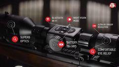 Цифровой прицел ночного видения ATN x-sight 4k pro 3-14x