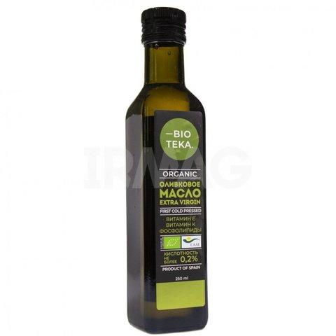 Органическое оливковое масло Extra Virgin 250 мл