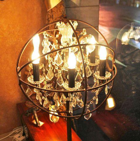 vintage chandelier 50-70 ( by Funky Vintage )